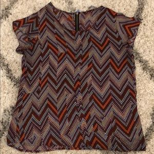 Loose fitted blouse.